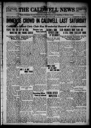 The Caldwell News and The Burleson County Ledger (Caldwell, Tex.), Vol. 48, No. 52, Ed. 1 Friday, March 9, 1928