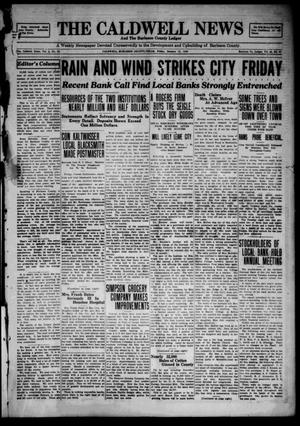 The Caldwell News and The Burleson County Ledger (Caldwell, Tex.), Vol. 43, No. 97, Ed. 1 Friday, January 11, 1929