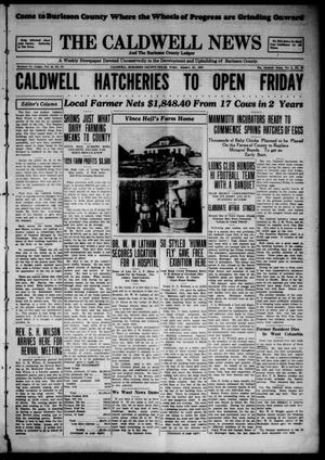 Primary view of object titled 'The Caldwell News and The Burleson County Ledger (Caldwell, Tex.), Vol. 43, No. 99, Ed. 1 Friday, January 25, 1929'.