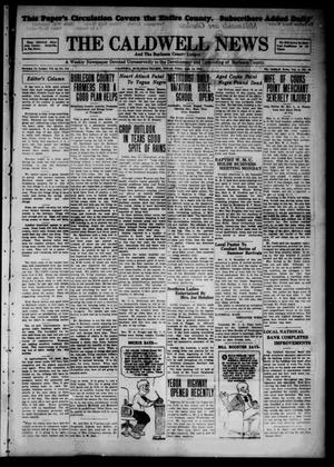 Primary view of object titled 'The Caldwell News and The Burleson County Ledger (Caldwell, Tex.), Vol. 44, No. 118, Ed. 1 Friday, June 14, 1929'.