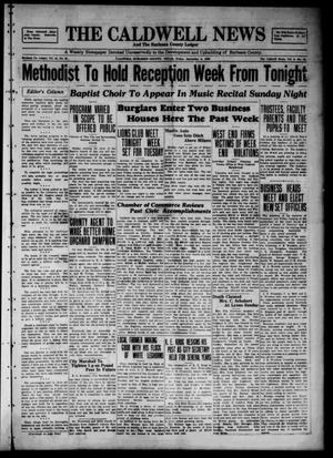 Primary view of object titled 'The Caldwell News and The Burleson County Ledger (Caldwell, Tex.), Vol. 44, No. 25, Ed. 1 Friday, September 6, 1929'.