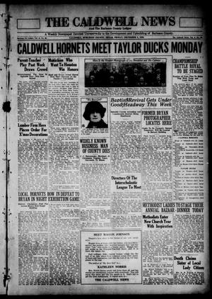 Primary view of object titled 'The Caldwell News and The Burleson County Ledger (Caldwell, Tex.), Vol. 45, No. 36, Ed. 1 Friday, December 5, 1930'.