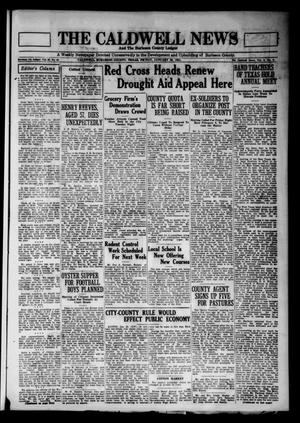 The Caldwell News and The Burleson County Ledger (Caldwell, Tex.), Vol. 45, No. 43, Ed. 1 Friday, January 30, 1931