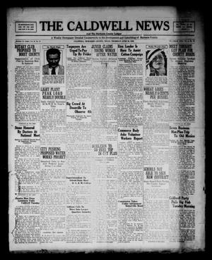 Primary view of object titled 'The Caldwell News and The Burleson County Ledger (Caldwell, Tex.), Vol. 48, No. 12, Ed. 1 Thursday, June 29, 1933'.