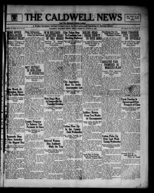 Primary view of object titled 'The Caldwell News and The Burleson County Ledger (Caldwell, Tex.), Vol. 48, No. 20, Ed. 1 Thursday, August 24, 1933'.