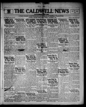 The Caldwell News and The Burleson County Ledger (Caldwell, Tex.), Vol. 48, No. 22, Ed. 1 Thursday, September 7, 1933