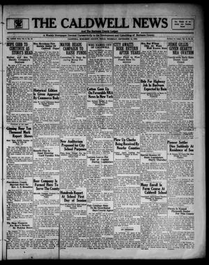 Primary view of object titled 'The Caldwell News and The Burleson County Ledger (Caldwell, Tex.), Vol. 48, No. 23, Ed. 1 Thursday, September 14, 1933'.