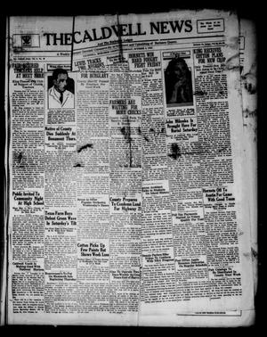 Primary view of object titled 'The Caldwell News and The Burleson County Ledger (Caldwell, Tex.), Vol. 48, No. 26, Ed. 1 Thursday, October 5, 1933'.