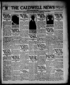Primary view of object titled 'The Caldwell News and The Burleson County Ledger (Caldwell, Tex.), Vol. 48, No. 27, Ed. 1 Thursday, October 12, 1933'.