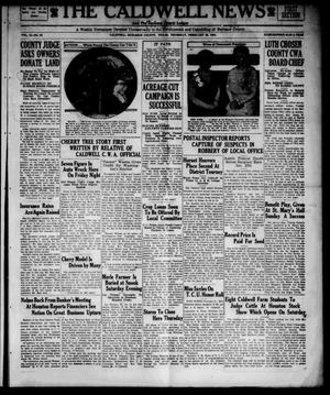 Primary view of object titled 'The Caldwell News and The Burleson County Ledger (Caldwell, Tex.), Vol. 48, No. 46, Ed. 1 Thursday, February 22, 1934'.