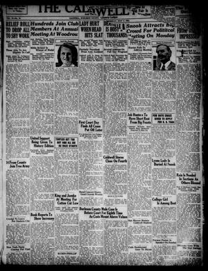 Primary view of object titled 'The Caldwell News and The Burleson County Ledger (Caldwell, Tex.), Vol. 49, No. 16, Ed. 1 Thursday, July 5, 1934'.