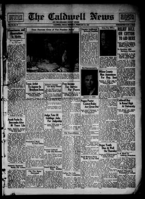 Primary view of object titled 'The Caldwell News and The Burleson County Ledger (Caldwell, Tex.), Vol. 50, No. 47, Ed. 1 Thursday, February 20, 1936'.