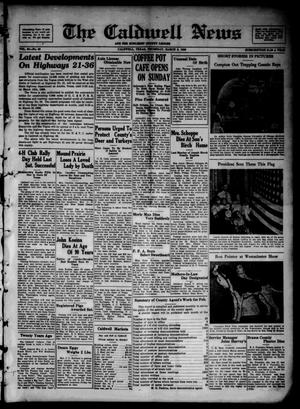 Primary view of object titled 'The Caldwell News and The Burleson County Ledger (Caldwell, Tex.), Vol. 50, No. 49, Ed. 1 Thursday, March 5, 1936'.