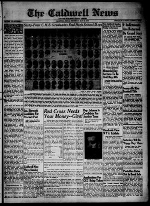 Primary view of object titled 'The Caldwell News and The Burleson County Ledger (Caldwell, Tex.), Vol. 55, No. 6, Ed. 1 Thursday, May 23, 1940'.