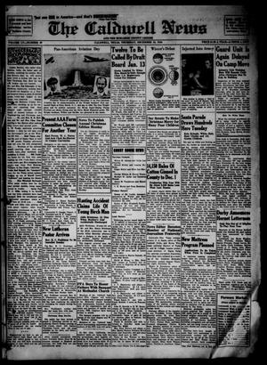 Primary view of object titled 'The Caldwell News and The Burleson County Ledger (Caldwell, Tex.), Vol. 55, No. 36, Ed. 1 Thursday, December 19, 1940'.