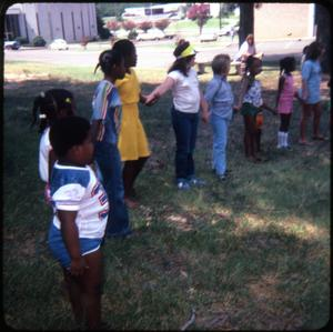 Primary view of object titled '[Children's Event at the Public Library]'.