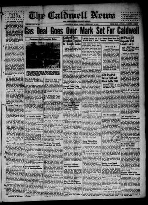 Primary view of object titled 'The Caldwell News and The Burleson County Ledger (Caldwell, Tex.), Vol. 59, No. 30, Ed. 1 Friday, February 8, 1946'.
