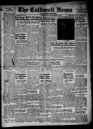 Primary view of object titled 'The Caldwell News and The Burleson County Ledger (Caldwell, Tex.), Vol. 59, No. 31, Ed. 1 Friday, February 15, 1946'.