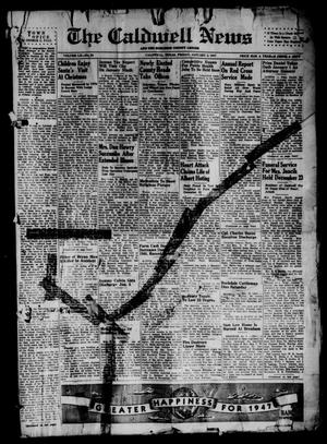 Primary view of object titled 'The Caldwell News and The Burleson County Ledger (Caldwell, Tex.), Vol. 60, No. 24, Ed. 1 Friday, January 3, 1947'.