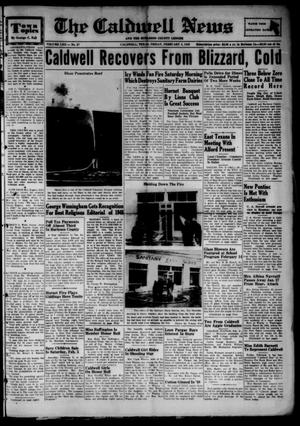 Primary view of object titled 'The Caldwell News and The Burleson County Ledger (Caldwell, Tex.), Vol. 62, No. 27, Ed. 1 Friday, February 4, 1949'.