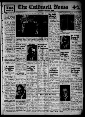 The Caldwell News and The Burleson County Ledger (Caldwell, Tex.), Vol. 63, No. 30, Ed. 1 Friday, February 24, 1950
