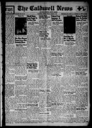The Caldwell News and The Burleson County Ledger (Caldwell, Tex.), Vol. 63, No. 31, Ed. 1 Friday, March 3, 1950