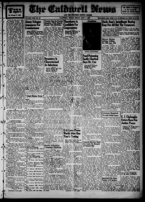 Primary view of object titled 'The Caldwell News and The Burleson County Ledger (Caldwell, Tex.), Vol. 63, No. 49, Ed. 1 Friday, July 7, 1950'.
