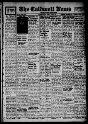 Primary view of object titled 'The Caldwell News and The Burleson County Ledger (Caldwell, Tex.), Vol. 64, No. 45, Ed. 1 Friday, June 8, 1951'.