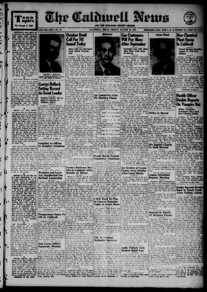The Caldwell News and The Burleson County Ledger (Caldwell, Tex.), Vol. 64, No. 54, Ed. 1 Friday, August 10, 1951