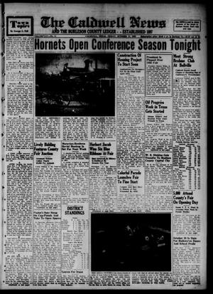 The Caldwell News and The Burleson County Ledger (Caldwell, Tex.), Vol. 65, No. 11, Ed. 1 Friday, October 17, 1952