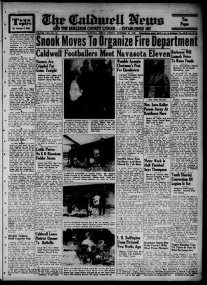 The Caldwell News and The Burleson County Ledger (Caldwell, Tex.), Vol. 65, No. 12, Ed. 1 Friday, October 24, 1952