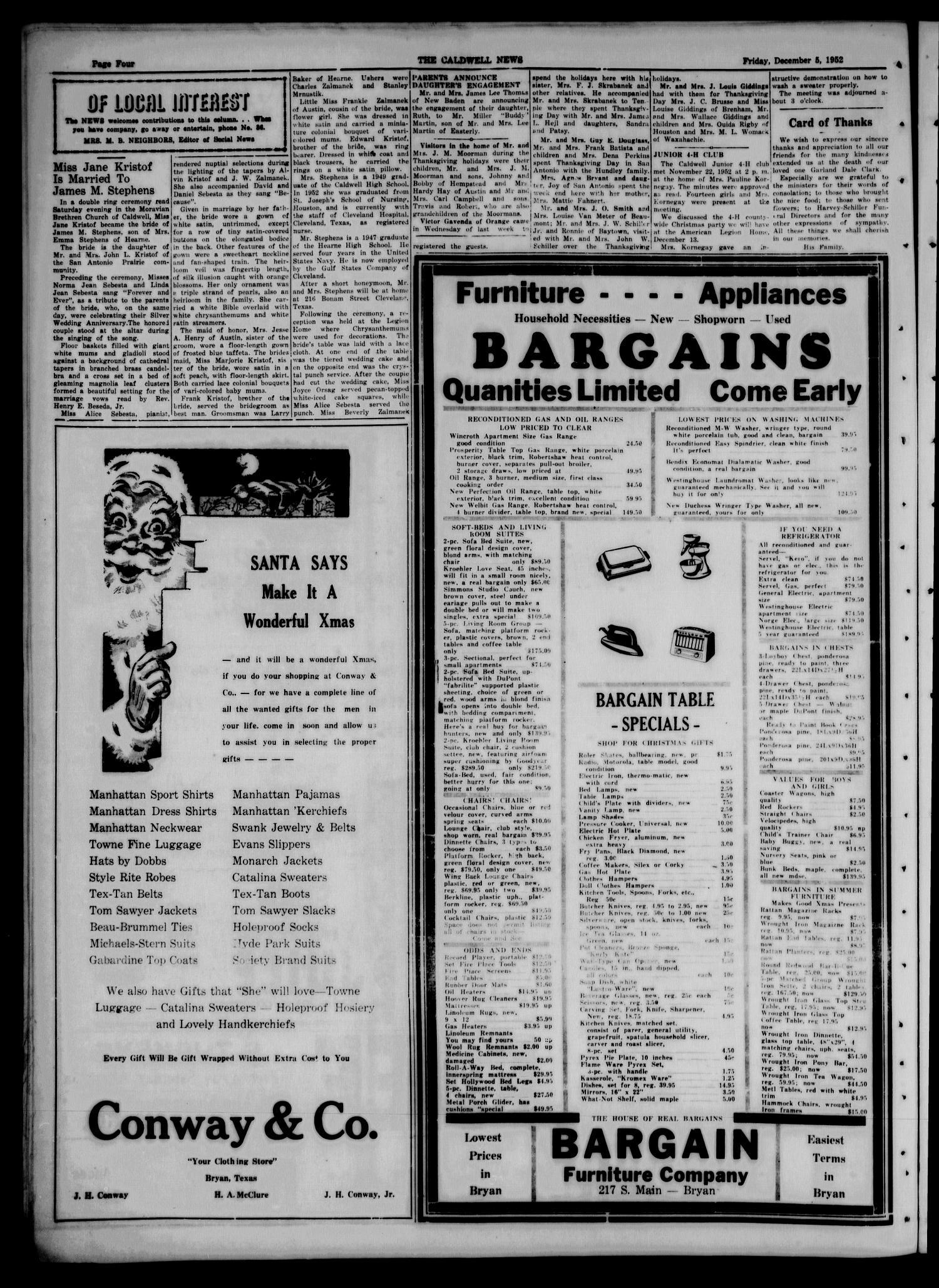 9b7c509259 The Caldwell News and The Burleson County Ledger (Caldwell, Tex ...