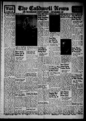 Primary view of object titled 'The Caldwell News and The Burleson County Ledger (Caldwell, Tex.), Vol. 65, No. 25, Ed. 1 Friday, January 23, 1953'.