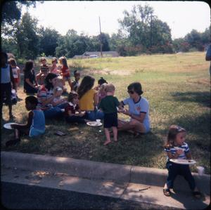 Primary view of object titled '[Children's Summer Reading Activity at the Library]'.