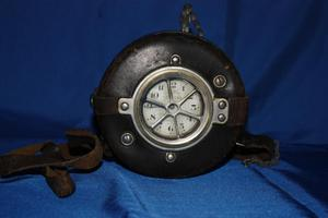 [Image of the APD night watchman's clock]