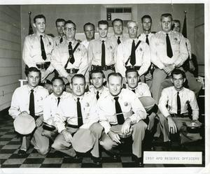 [APD Reserve Officers, 1957, view 1]