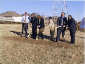 [West Arlington Police Service Center groundbreaking ceremony, 2003]