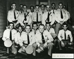 [APD Reserve Officers, 1957, view 2]