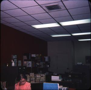 Primary view of object titled '[Library Workroom]'.