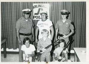 Primary view of object titled '[APD program teaching gun safety to children. Award winners 1970s]'.