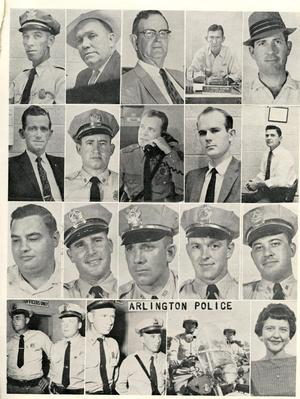 Primary view of object titled '[APD police officers from the Texas Lawman Magazine, 1960, part 2, page 1]'.
