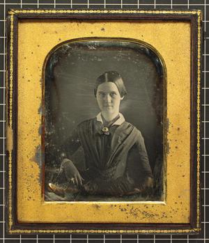Primary view of object titled '[Portrait of Ada Jennings]'.