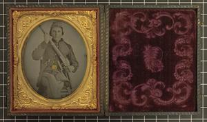 Primary view of object titled '[Portrait of Henry Hart]'.