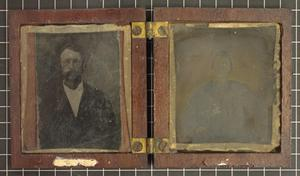 [Portraits of G. S. and Henry Hart]