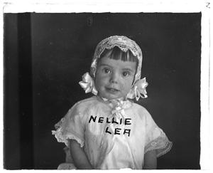 Primary view of object titled '[Portrait of Nellie Lea]'.