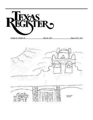 Primary view of object titled 'Texas Register, Volume 36, Number 20, Pages 3139-3222, May 20, 2011'.