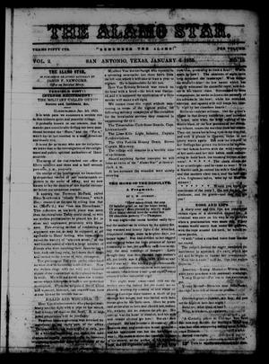 The Alamo Star (San Antonio, Tex.), Vol. 2, No. 18, Ed. 1 Saturday, January 6, 1855