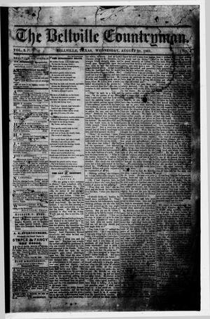 Primary view of object titled 'The Bellville Countryman (Bellville, Tex.), Vol. 2, No. 4, Ed. 1 Wednesday, August 21, 1861'.