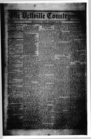 The Bellville Countryman (Bellville, Tex.), Vol. 2, No. 10, Ed. 1 Wednesday, October 2, 1861