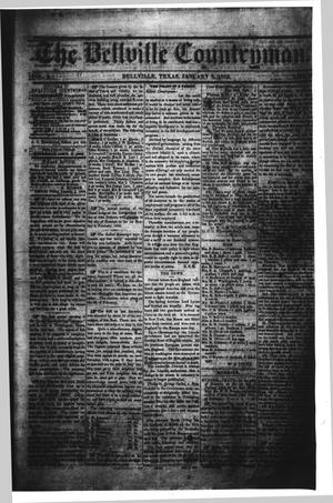 Primary view of The Bellville Countryman (Bellville, Tex.), Vol. 2, No. 23, Ed. 1 Wednesday, January 8, 1862